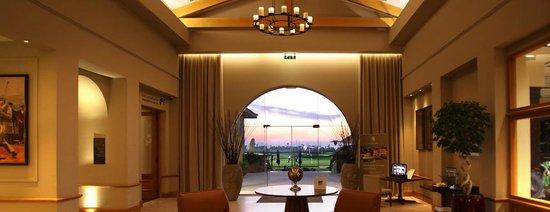 Lobby of Saadiyat Beach Golf Club