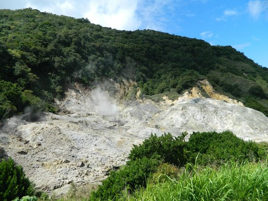Cosol Tours:                   Drive thru volcano...what's that smell?