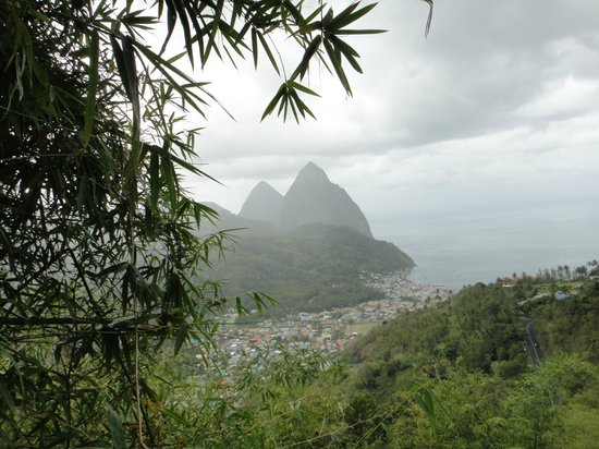 Cosol Tours:                   Pitons St. Lucia