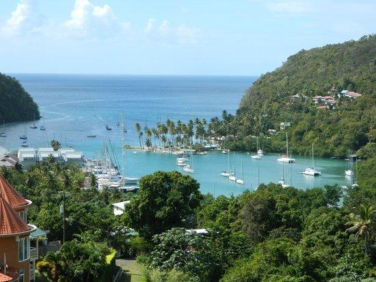 Cosol Tours:                   Marigot Bay