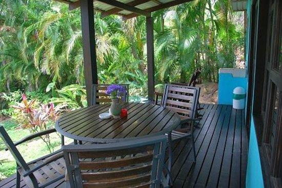 Costa Paraiso:                   Veranda