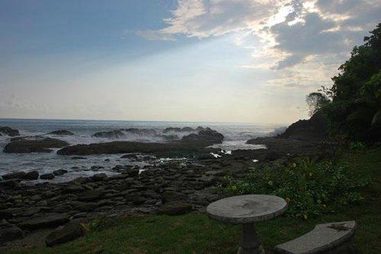Costa Paraiso:                   Brandung
