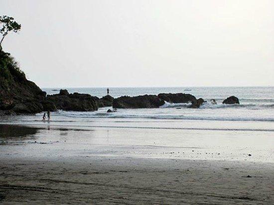 Hotel Club del Mar:                   beach directly in front of hotel
