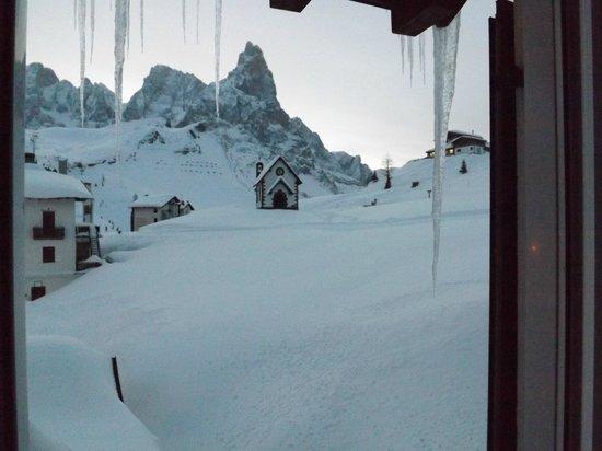 Alpenrose Hotel:                   panorama dalla camera