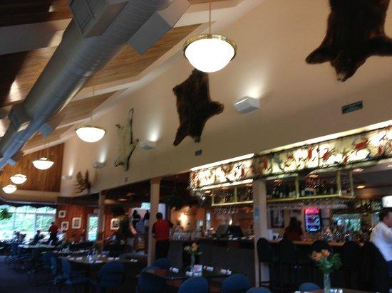 Timberline Bar & Grill:                   Tasteful decor
