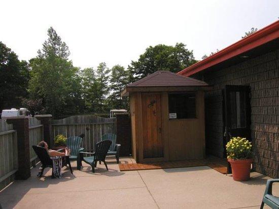 Carsons Camp: Sauna