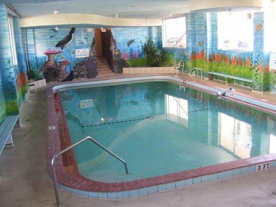 Sea Dip Beach Resort and Condominiums: Heated indoor pool ( winter time)
