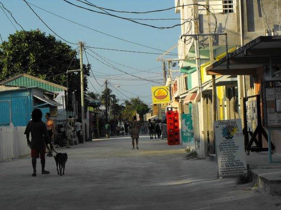 Caye Caulker:                   Front Street