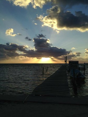 Caye Caulker:                   Sunrise