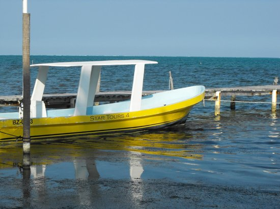Caye Caulker:                   Parked