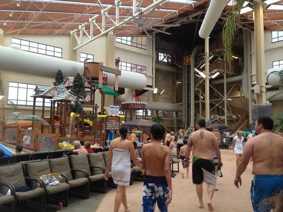 Wilderness at the Smokies Resort:                                     ready for fun