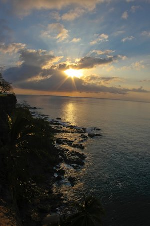 Tango Mar Beachfront Boutique Hotel & Villas:                                                       Sunrise at look out