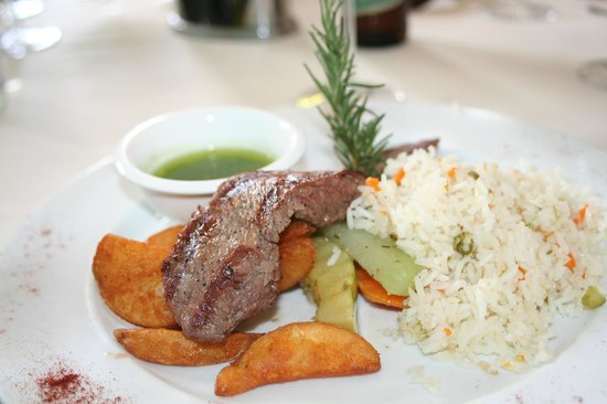 Hotel Dario:                   Steak Dinner