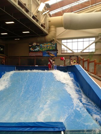 Wilderness at the Smokies Resort:                                     surf time