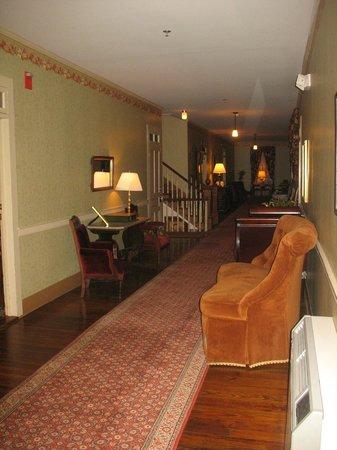 Atlantic Hotel:                   Hallway