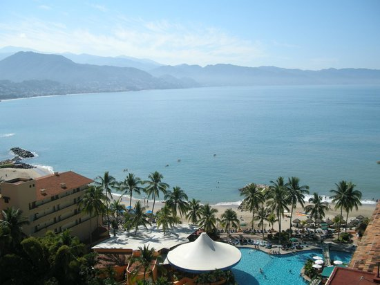 Sunscape Puerto Vallarta Resort & Spa:                   View from our room