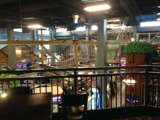 Wilderness at the Smokies Resort:                                     play area