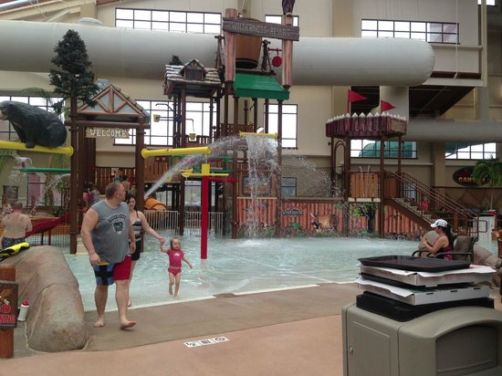 Wilderness at the Smokies Resort:                                     play area