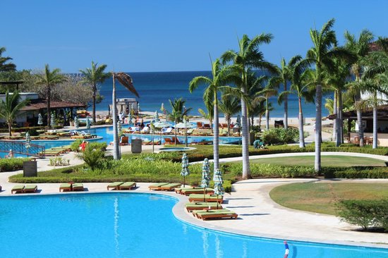 JW Marriott Guanacaste Resort & Spa Costa Rica:                   At the pool