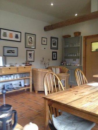 Village Farm Bed & Breakfast:                   Breakfast Room