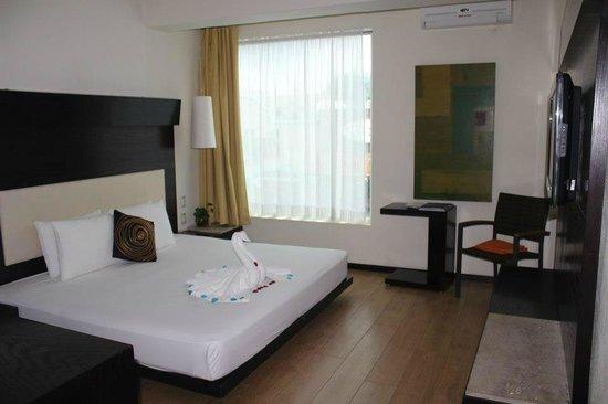 Hotel El Punto:                   nuestra hermosa habitacion