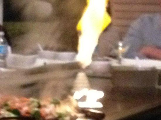 Desaki Restaurant:                   active volcano