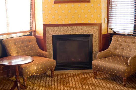 Napa River Inn at the Historic Napa Mill:                   executive suite with fireplace