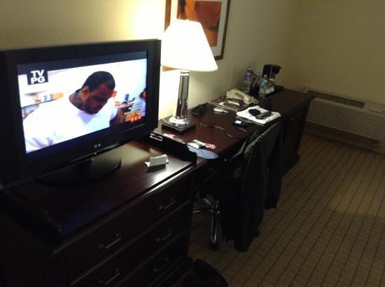 Sheraton San Jose Hotel:                                     room