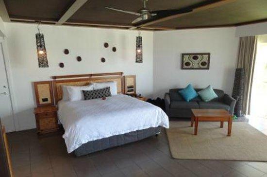 Outrigger Fiji Beach Resort :                   Deluxe Ocean View room