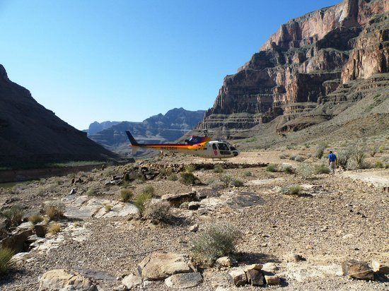 Grand Canyon:                                     Taking Off