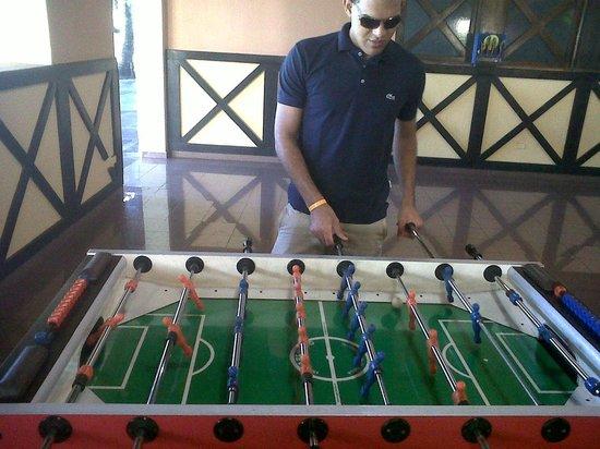 Grand Paradise Samana:                   Y en los juegos