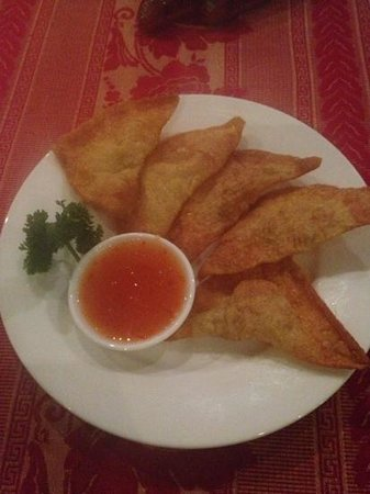 Orchideengarten Restaurant:                   deep fried wanton