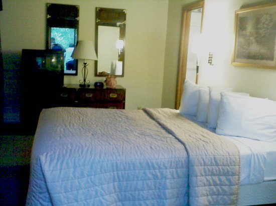 Wyndham Resort at Fairfield Mountains:                                                       Master Bedroom has a comfortable Queen bed