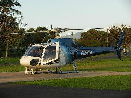 Garden Island Inn:                   Helicopter Tour