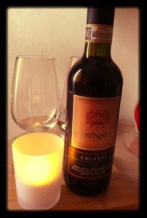 Residenza Castelli:                   vino regalato per il mio compleanno