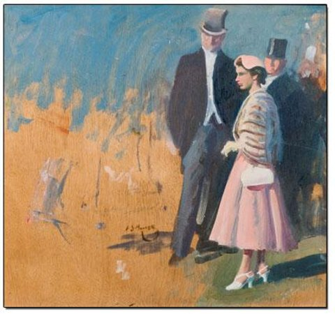 The Munnings Art Museum : Study for HM The Queen