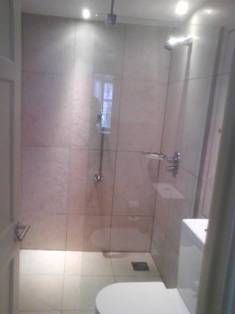ABode Exeter:                   En suite shower room and toilet