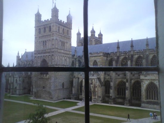 ABode Exeter:                   A great view of Exeter Cathedral from the room