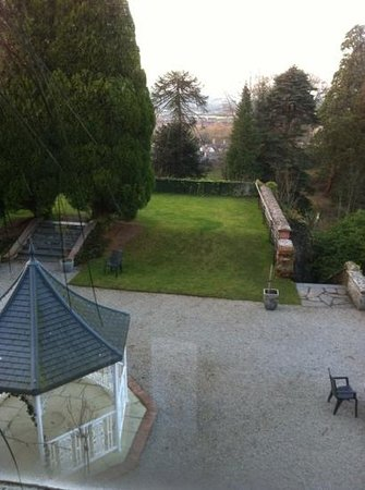 Ruthin Castle Hotel:                   bedroom view