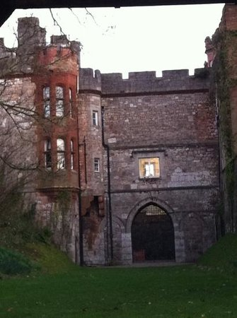Ruthin Castle Hotel:                   castle