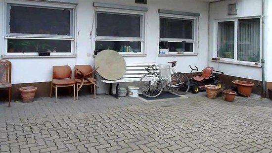 Pension Schlossmichel:                   Der Innenhof