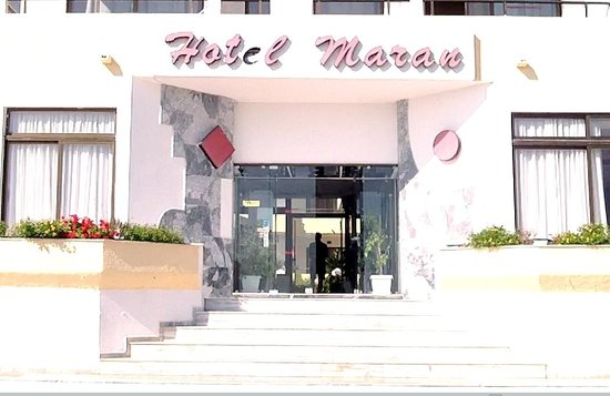 Hotel Maran:                   A view from the front