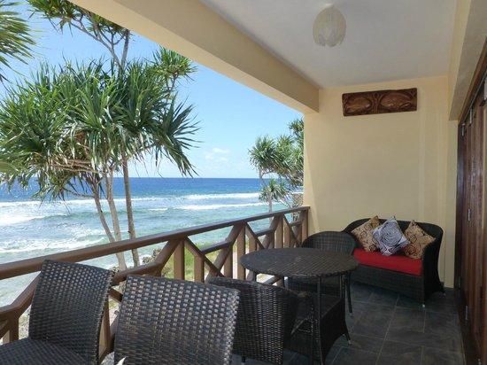 Nasama Resort: Luxury 1-Bedroom Oceanfront  / Patio