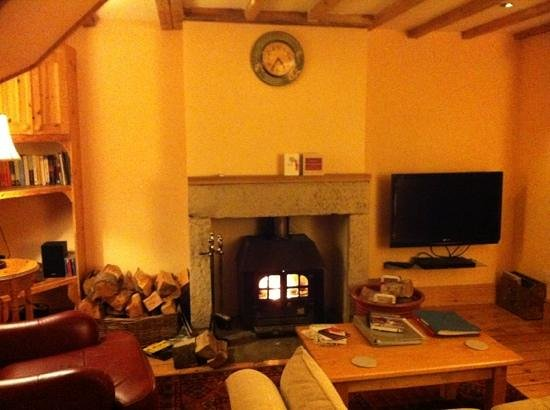 Cheviot Holiday Cottages:                   living room in Coach House