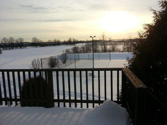 Zephyr, Kanada:                   view from loft