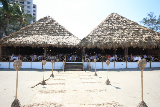 Villa Rica Mocambo : Desde la playa