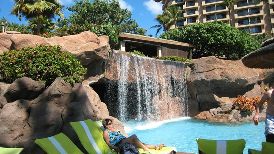 The Westin Maui Resort & Spa:                                     the kiddy pool area
