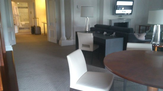 Hotel Bristol, a Luxury Collection Hotel, Warsaw:                   Living room (Senior suite)