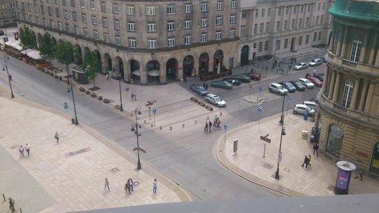 Hotel Bristol, a Luxury Collection Hotel, Warsaw:                   Gotta love the views!