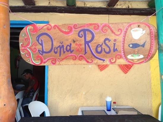 Dona Rosita:                   Doña Rosi